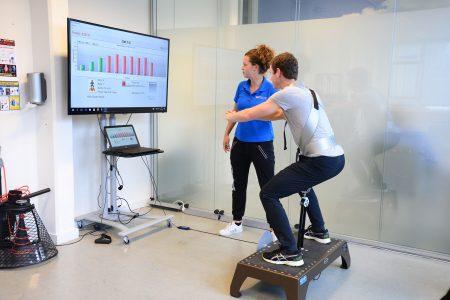 Flywheel training fysiotherapie Zoetermeer